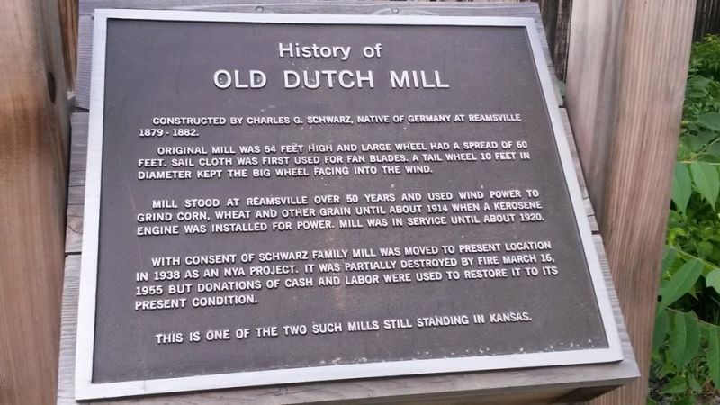 Dutch Mill History
